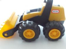 Adorable My 1st Push Along 'Little Tikes' Chunky Digger Toy